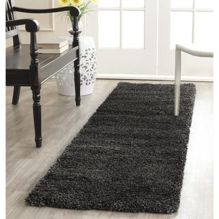 Safavieh Milan Shag Dark Grey Rug (2' x 10')