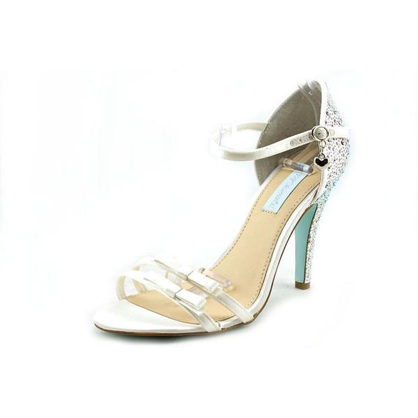 Betsey Johnson Women's 'Bow' Fabric Dress Shoes (Size 9 )