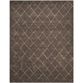Safavieh Tunisia Dark Brown Rug (9' x 12')