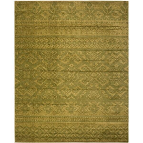 Safavieh Adirondack Green/ Dark Green Rug (10' x 14')