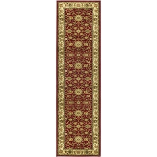 Safavieh Lyndhurst Red/ Ivory Rug (2'3 x 18')