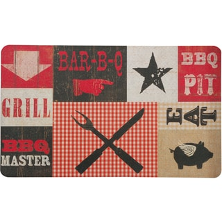 Outdoor BBQ Pit Doormat (1'6 x 2'6)