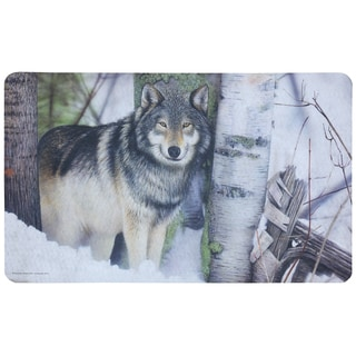 Outdoor Love Wolf Doormat (1'6 x 2'6)