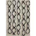 American Rug Craftsmen Cascade Rushmore Ivory Rug (3'4 x 5'6)