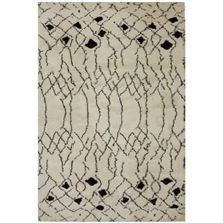 American Rug Craftsmen Cascade Colona Ivory Rug (5'3 x 7'10)