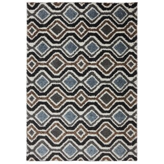 American Rug Craftsmen Augusta Omaha Grey Black Rug (8' x 11')