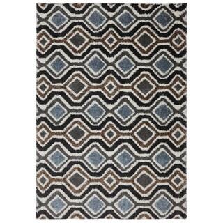 American Rug Craftsmen Augusta Omaha Grey Black (10' x 14')