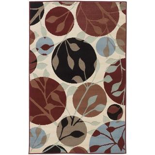 Signature Designs by Ashley 'Anya' Floral Polypropylene Rug (4'4 x 6'9)