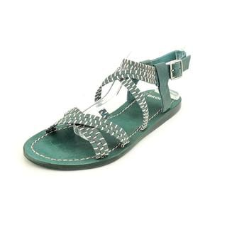 Bronx Women's 'Jolt Me' Leather Sandals (Size 7 )