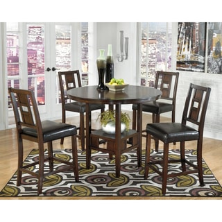 Signature Designs by Ashley Logan Brown Counter Table Set