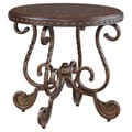 Signature Designs by Ashley 'Rafferty' Round Dark Brown End Table