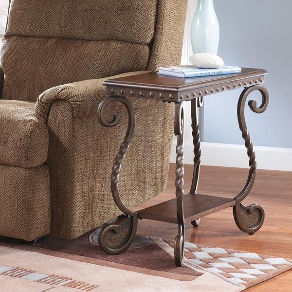 Ashley Coffee End Tables: Signature Designs By Ashley 'Rafferty' Dark Brown Chair