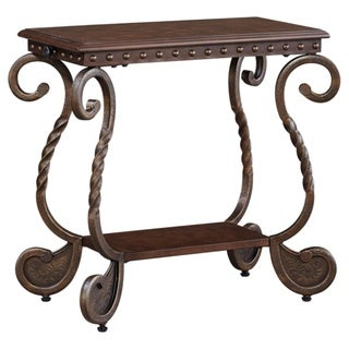 Signature Designs by Ashley 'Rafferty' Dark Brown Chair Side End Table