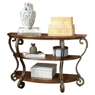 Signature Designs by Ashley 'Nestor' Medium Brown Sofa Table