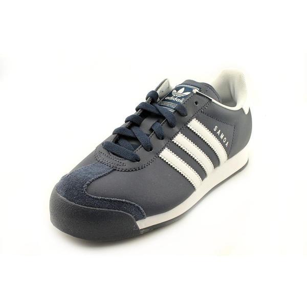 Adidas Boy (Youth) 'Samoa' Leather Athletic Shoe