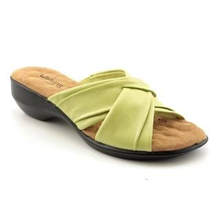 Walking Cradles Women's 'Lansing' Leather Sandals - Narrow (Size 11 )