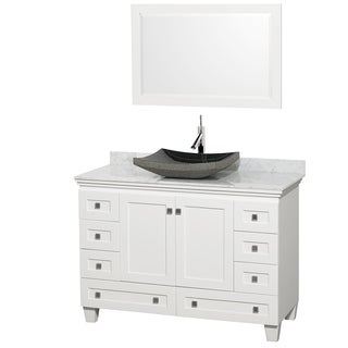 Wyndham Collection Acclaim White 48-inch Single Vanity