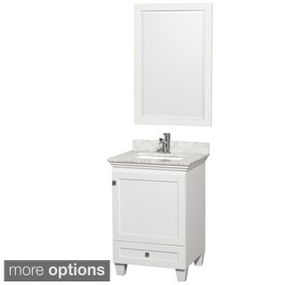 Wyndham Collection Acclaim 24-inch Single White Vanity