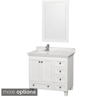 Wyndham Collection Acclaim 36-inch Single White Vanity