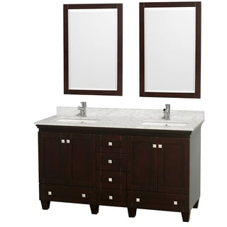 Wyndham Collection Acclaim 60-inch Double Espresso Vanity