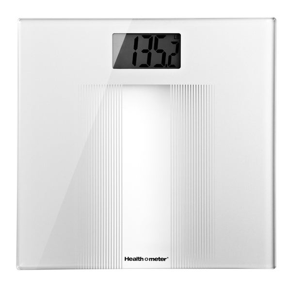 Health-O-Meter White Digital Bathroom Scale