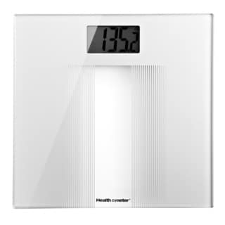 White Digital Bathroom Scale