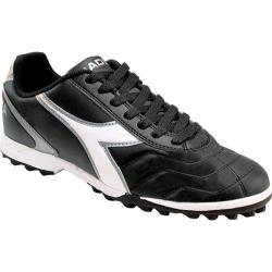 Men's Diadora Capitano LT TF Black/White/Silver