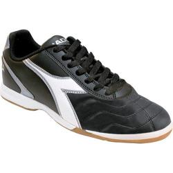 Men's Diadora Capitano LT ID Black/White/Silver