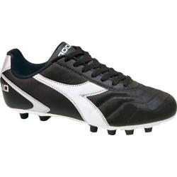 Men's Diadora Capitano LT MD PU Black/White/Silver