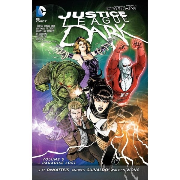 Justice League Dark: the New 52 5: Paradise Lost (Paperback) 13201110