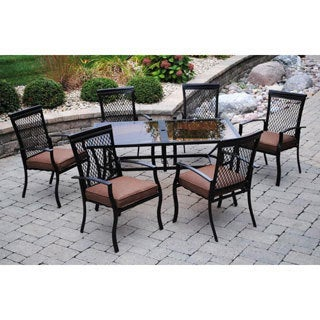 Sun Casual Geneva 7-piece Dining Set