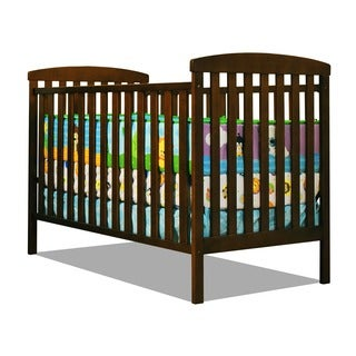 Mikaila 'Chloe' 3-in-1 Convertible Crib in Mocha