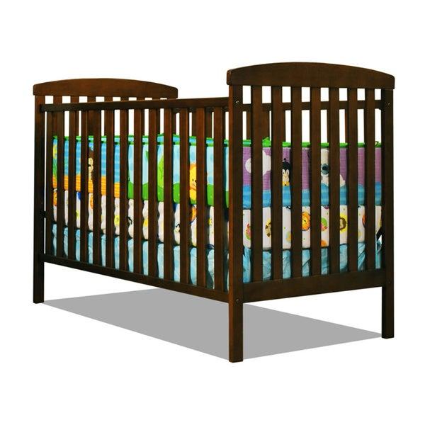 Mikaila 'Chloe' 3-in-1 Convertible Crib in Mocha