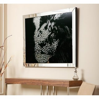 Abbyson Living Lion Crystal Wall Mirror