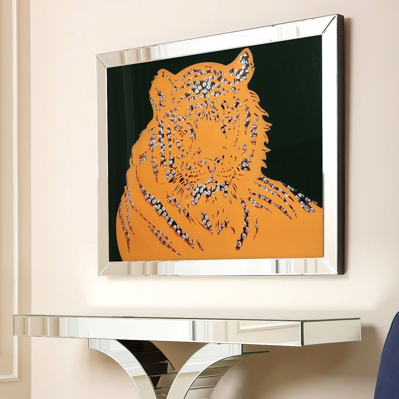 Abbyson Living Tiger Crystal Wall Mirror at Sears.com