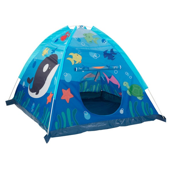 KidKraft Aquarium Dome Tent in Blue