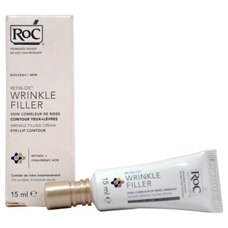 Roc Retin-Ox Wrinkle Filling Cream Eye & Lip Contour 0.5-ounce Cream