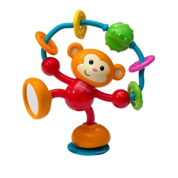 Infantino Stick and Spin High Chair Pal in Monkey 13202080