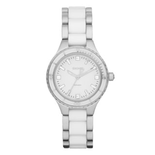 DKNY Women's NY8498 Ceramic Two Tone Watch