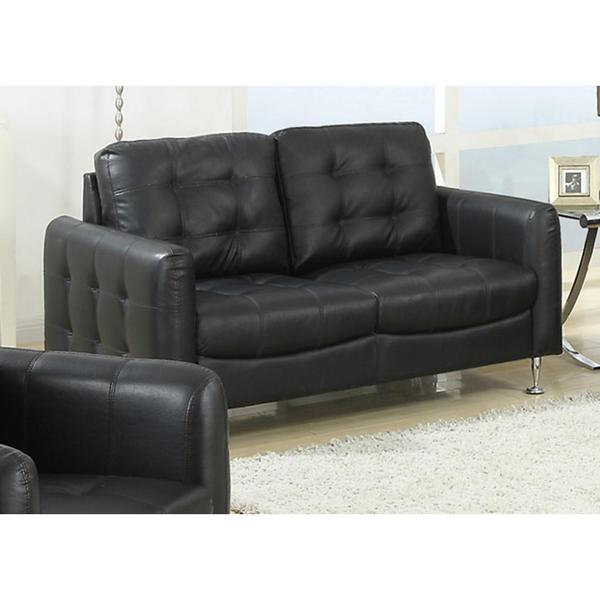 Megan Black Loveseat