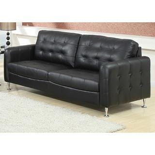 Megan Black Sofa