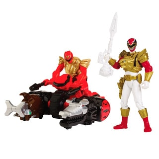 Red Ranger Zord and Ranger Bundle