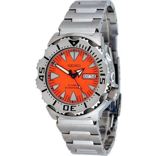 Seiko Men's SRP309K1 Monster Automatic Silver Watch