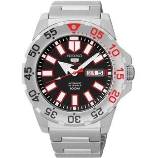 Seiko 5 Men's SRP485K1 Sports Automatci Silver Watch