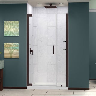 Dreamline Elegance 47.75 - 49.75 in. W x 72 in. H Frameless Pivot Shower Door
