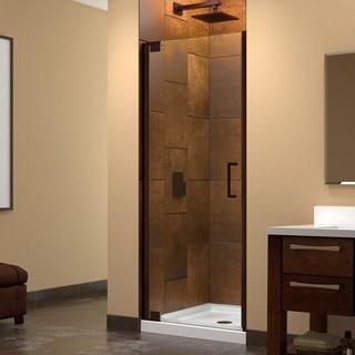 Dreamline Elegance 27 - 29 in. W x 72 in. H Frameless Pivot Shower Door