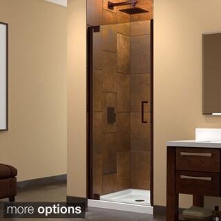 Dreamline Elegance 30.5 - 32.5 in. W x 72 in. H Frameless Pivot Shower Door