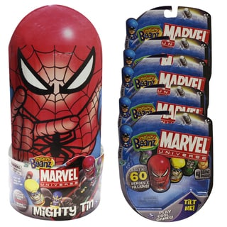 Marvel Mighty Beanz and Storage Case Bundle