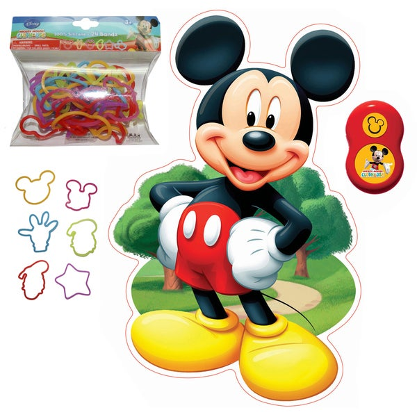 Mickey Mouse Wall Friends and SillyBandz Pack