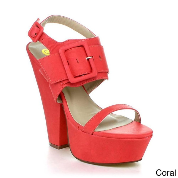 BE INTOUCH POPI-2 Women's Strappy Platform Sandals